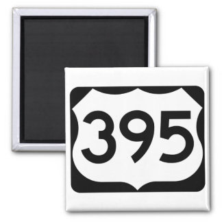 US Route 395 Sign Magnet