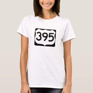 US Route 395 Sign T-Shirt