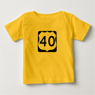 US Route 40 Sign Shirt