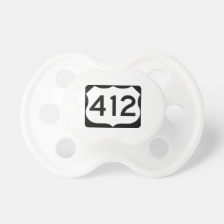 US Route 412 Sign Pacifier