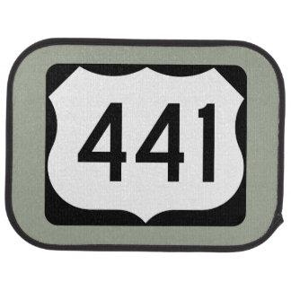 US Route 441 Sign Car Mat