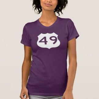 US Route 49 Sign Shirts
