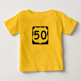 US Route 50 Sign T Shirt