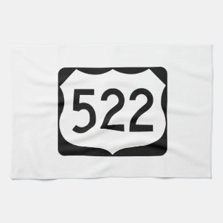 US Route 522 Sign Kitchen Towel