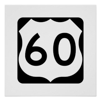 US Route 60 Sign