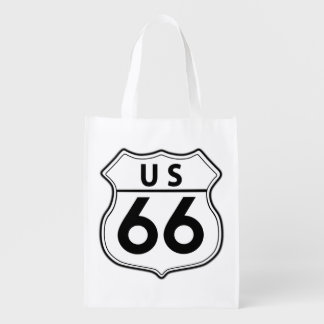 US Route 66 Classic Bag Grocery Bag