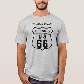 US ROUTE 66 - ILLINOIS T-Shirt