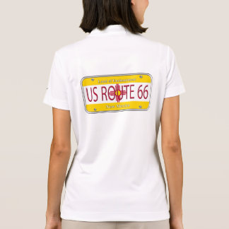 US Route 66 New Mexico Polo Shirt