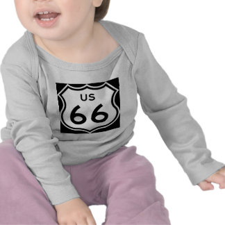 US Route 66 Sign Tee Shirts
