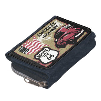 US Route 66 Sign Wallets