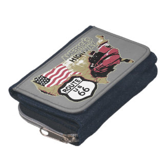 US Route 66 Sign Wallet