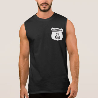 US Route 66 Sleeveless Shirt