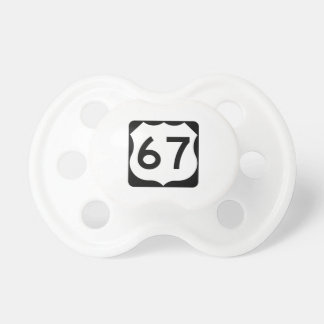 US Route 67 Sign Pacifier