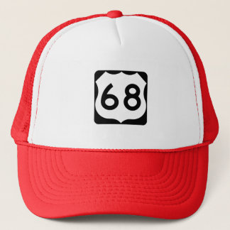 US Route 68 Sign Trucker Hat