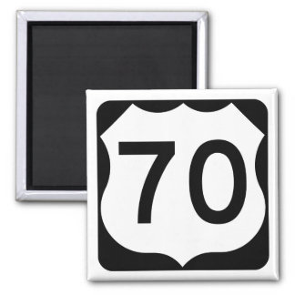 US Route 70 Sign Magnet
