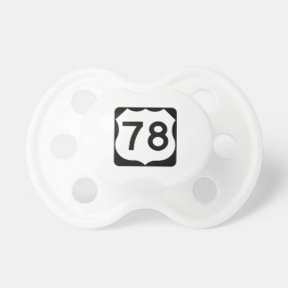 US Route 78 Sign Pacifier