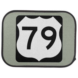 US Route 79 Sign Car Floor Mat