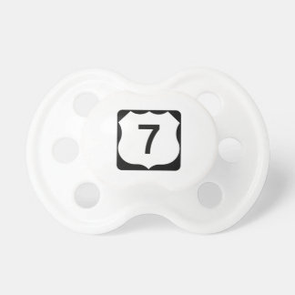US Route 7 Sign Pacifier