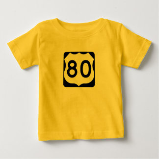 US Route 80 Sign Shirt