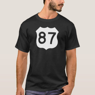 US Route 87 Sign T-Shirt