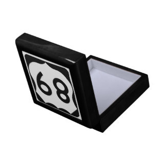 US Route 89 Sign Gift Box