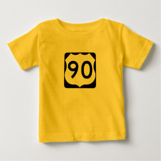 US Route 90 Sign T-shirt
