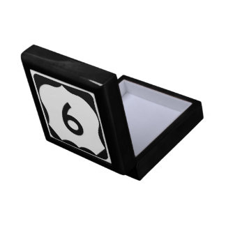 US Route 9 Sign Gift Box