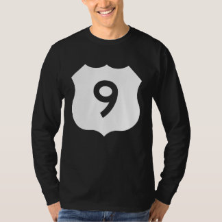 US Route 9 Sign T-Shirt