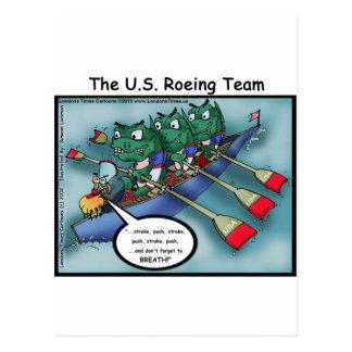 US Rowing (Roe-ing Team Funny Tees Cards Mugs Etc