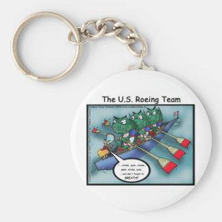 US Rowing (Roe-ing Team Funny Tees Cards Mugs Etc Keychain