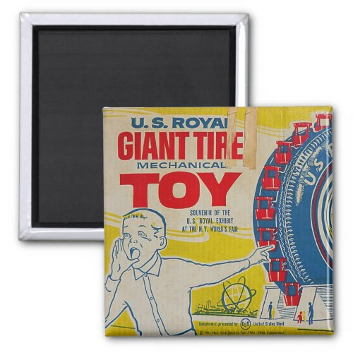 US Royal Giant Tire Toy Magnet