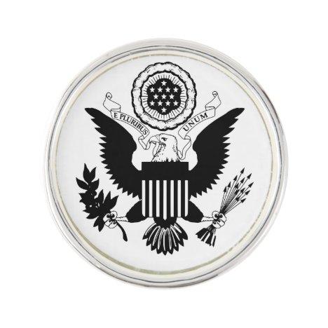 US Seal Lapel Pin