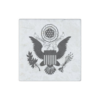 US Seal Stone Magnet