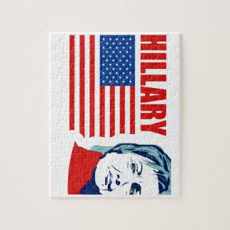 US Senator Hillary Rodham Clinton Jigsaw Puzzle