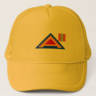 US_Seventh_Army_4th_Inf Trucker Hat
