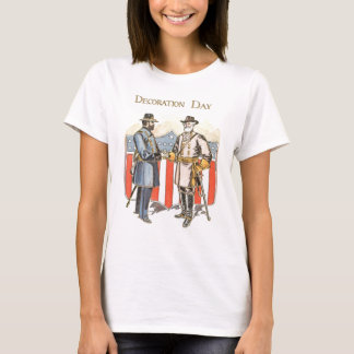 US Shield Union Confederate Soldier T-Shirt