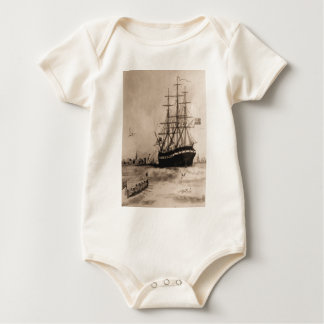 US Ship Alfred 1775 Baby Bodysuit