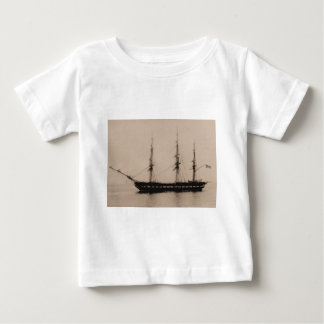 US Ship Constellation at anchor Baby T-Shirt
