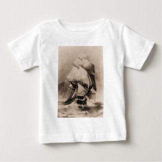 US Ships Constellation at sea Baby T-Shirt