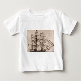 US Ships Constellation sailplan Baby T-Shirt