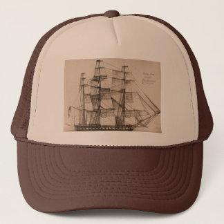 US Ships Constellation sailplan Trucker Hat