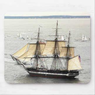 US Ships Constitution Parade of Sail Mouse Pad