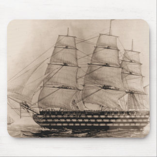 US Ships Pennsylvania 1817 Mouse Pads