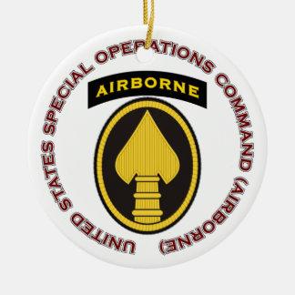 US SOC - Airborne Ceramic Ornament