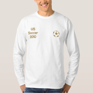 US Soccer 2010 Embroidered Long Sleeve Shirt