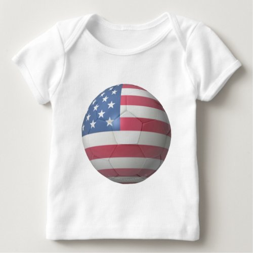 US Soccer Baby T_Shirt