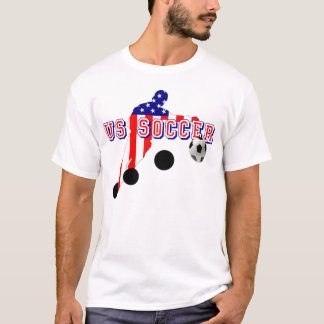 US Soccer Player Bend it like an American T-Shirt