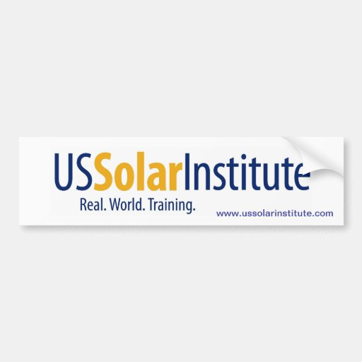 US Solar Institute Bumper Stickers