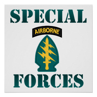 US Special Forces Poster