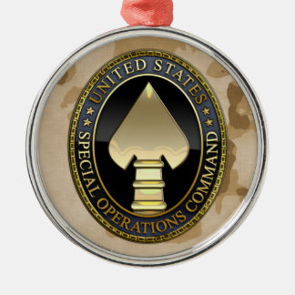 US Special Operations Command Metal Ornament